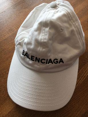 バレンシアガキャップのクリーニング