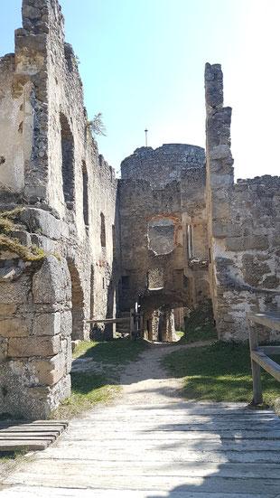 Auf der Burg Prandegg