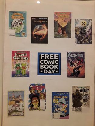 Pssst....Free Comic Book Day-Hefte hatten wir auch!