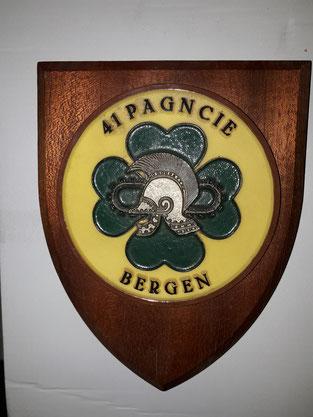 41 PAGNCIE, Bergen, Genie, defensie, schildje