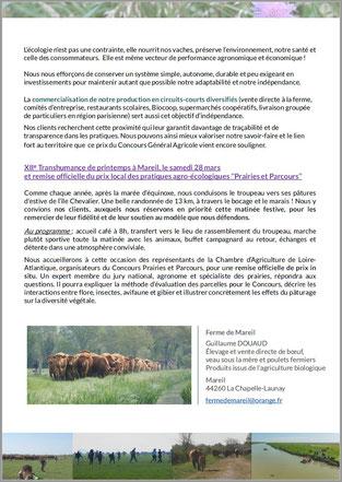 1er prix Pratiques agro-écologiques CGA Ferme de Mareil p.2