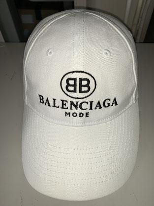 バレンシアガのキャップクリーニング