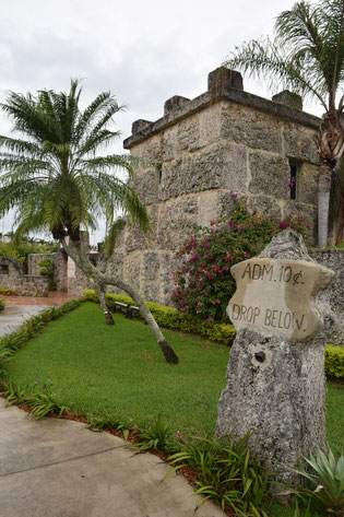 Entrée du Coral Castle