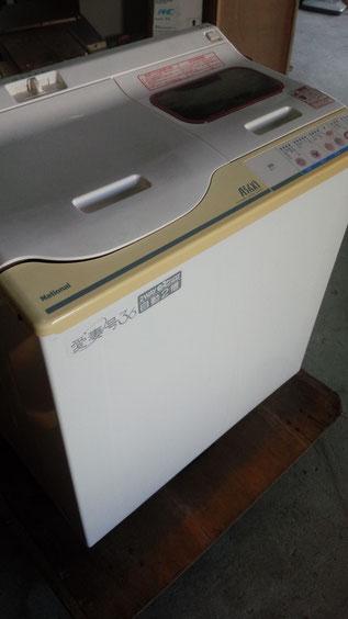 二層式洗濯機の写真