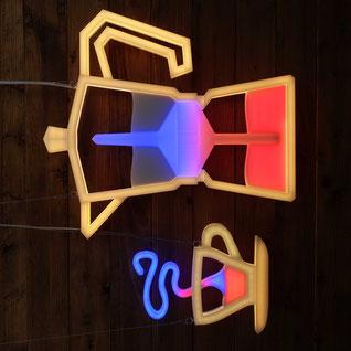 Lampe Topas Designerlampe Kunst Lichtkunst Unikat
