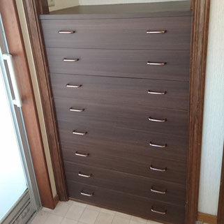 造り付け家具の修理