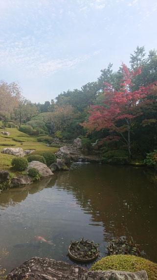 昭和の小堀遠州と称された中根金作の作の一つ 「余香苑」