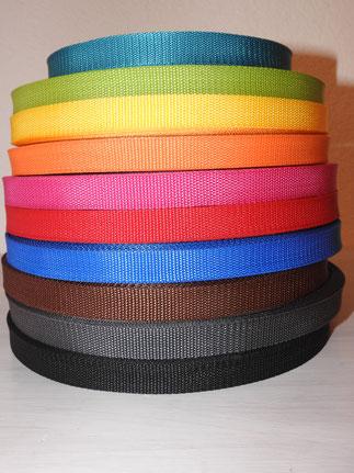 Gürtbänder 2 cm
