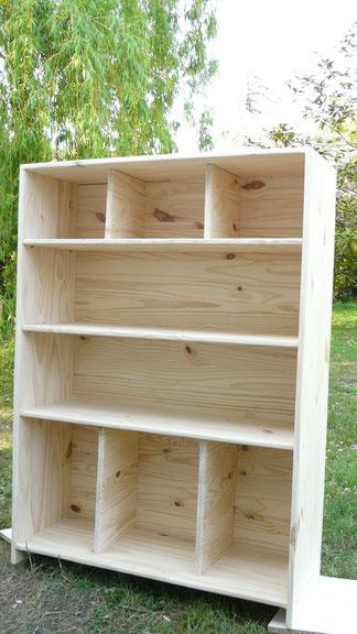 créateur étagère bois unique artisanat sur-mesure