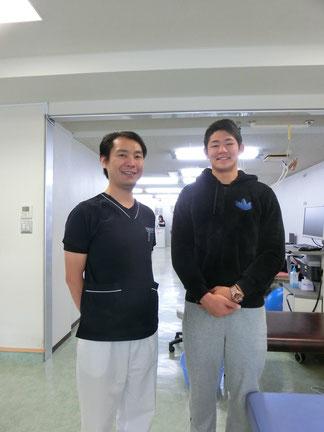 藤田慶和さんと当院院長