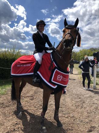 Singapure Sopot 2019, 4.Platz CCI3*L, bestes polnisch gezogenes Pferd. Glückwunsch an Herrn Dahlke