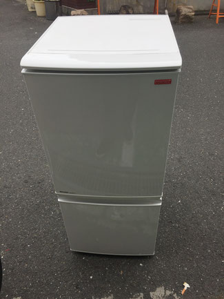 SHARP2ドア冷蔵庫