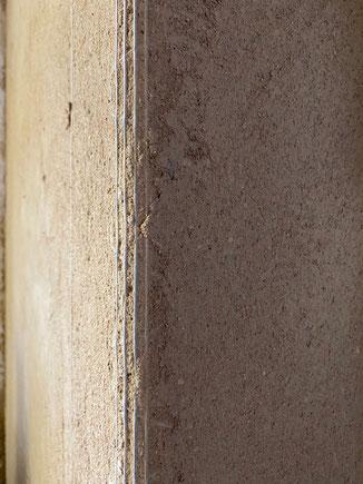 An den Kanten können sogenannte Drahtrichwinkel mit eingeputzt werden. Diese gibt es auch als Rundkantenprofil. So erhält man eine Stoßsichere Kante . Für Selberbauer natürlich auch bei uns erhältlich.