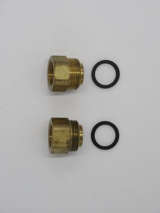温水暖房用ヘッダー ブッシングセット