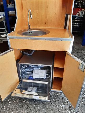 Flightcase Küche