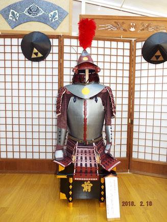 南蛮胴具足 ボール紙製ではなく金属製です  故所澤貞雄氏製作