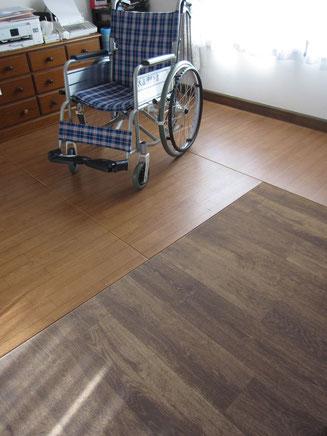 2階の部屋「リフォーム畳®」この床は、畳です。