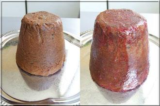 preparation gateau pour recouvrement de pate a sucre
