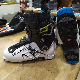 ressemelage chaussures ski de randonnées semelle d'origine Salomon