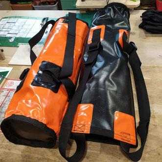 confection de sacs spécifique type kits spéleo/canyon