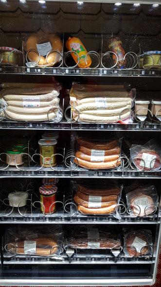 Wurstautomat - Wurstautomat 24h einkaufen - Fleischerei Bechtel
