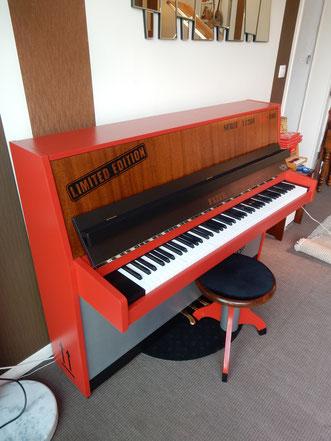 Piano Relooké Industriel