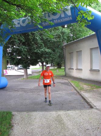 Le premier du Marathon des  3 Forêts  et  des 60 kms de  Marche de  L'Oise .  Temps  6H 20 mn avec  4 km de  plus que le  parcours ; Félicitations  .