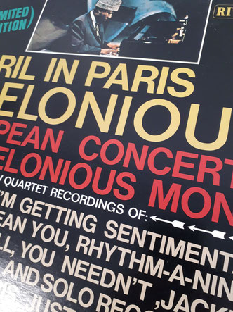 Thelonious Monk「April in Paris」(1961年録音)