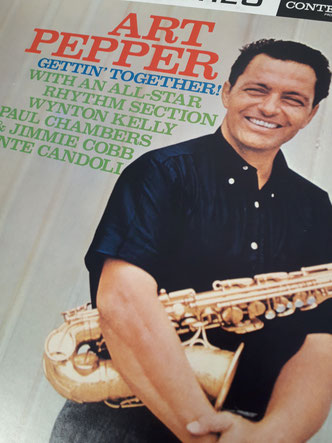 Art Pepper「Gettin' Together」(1960年2月29日録音)