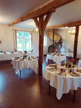 Salle de réception du Campreux Picardie Somme Oise Amiens Beauvais Conty
