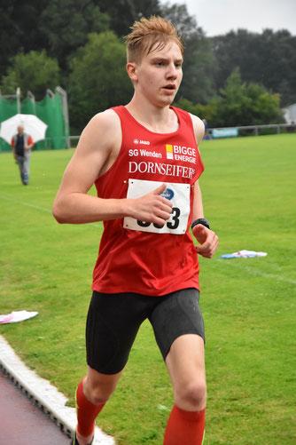 Frederik Wehner (hier im vergangenen Sommer) war über 1500m in der Halle erfolgreich