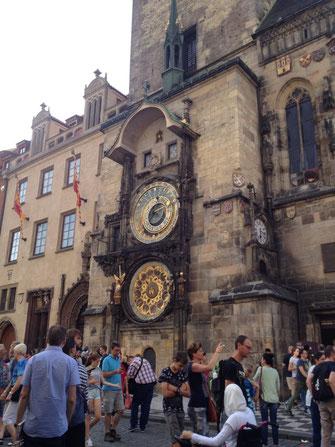 Prag, Rathausuhr, Altstadt