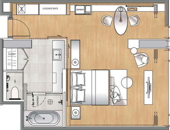 Muebles de hotel, Mueble de hotel, equipamiento de hotel
