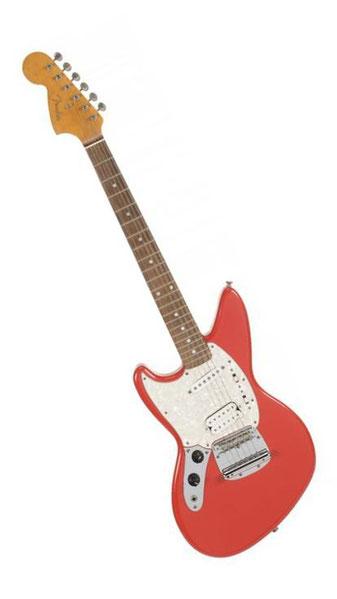 Kurt Cobains eigener Prototyp wurdefür ca. 400.000 $ versteigert.
