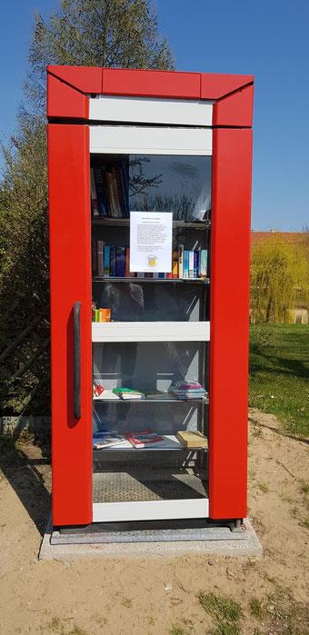 Bücherzelle Golzow
