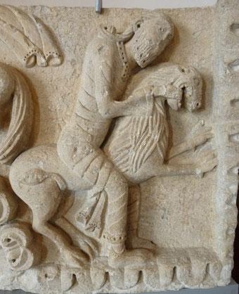 Une des nombreuses belles pièces conservées au musée de Cluny