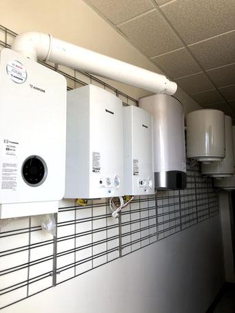 Venta e instalación de termos y calentadores