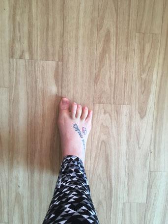 Fußgewölbe aufbauen, Fußkräftigung, ToeGa