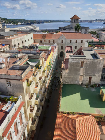 Ausblick vom Camara Oscura über Havanna