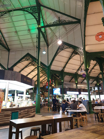 Lau Pa Sat Hawker Center Singapur