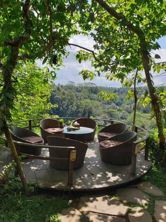Terrasse Bali Pulina