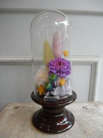 プリザーブドフラワーの仏壇花