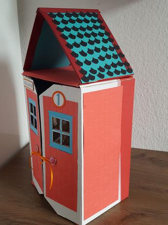 #Stempelliese.com #Puppenhaus #Geschenkverpackung #Stampinup #Bastelideen