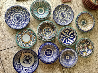 モロッコおすすめお土産/フェズの陶器/シャウエン在住Mikaのブログ