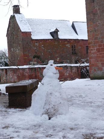 Bonhomme de Neige à Collonges-la-Rouge