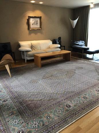 TABRIZ マララン 12㎡  可愛い愛犬のため最高級の絨毯をお選びいただきました!
