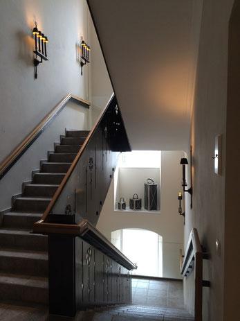 Treppenaufgang Erdgeschoss zum Obergeschoss
