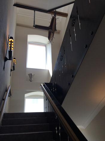 Treppenaufgang Obergeschoss zum Dachgeschoss