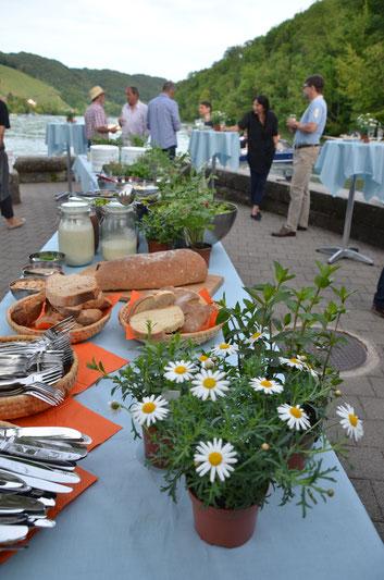 Catering am Rhein - Juni 2016
