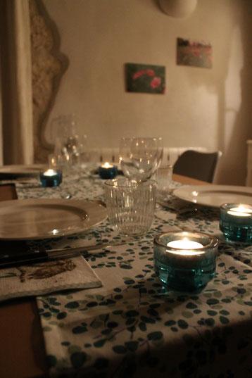Plaisir et dégustation en table d'hôtes / Au mas de Janita ©